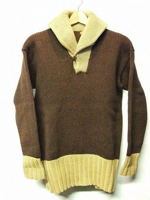 shawl knit 2 tone