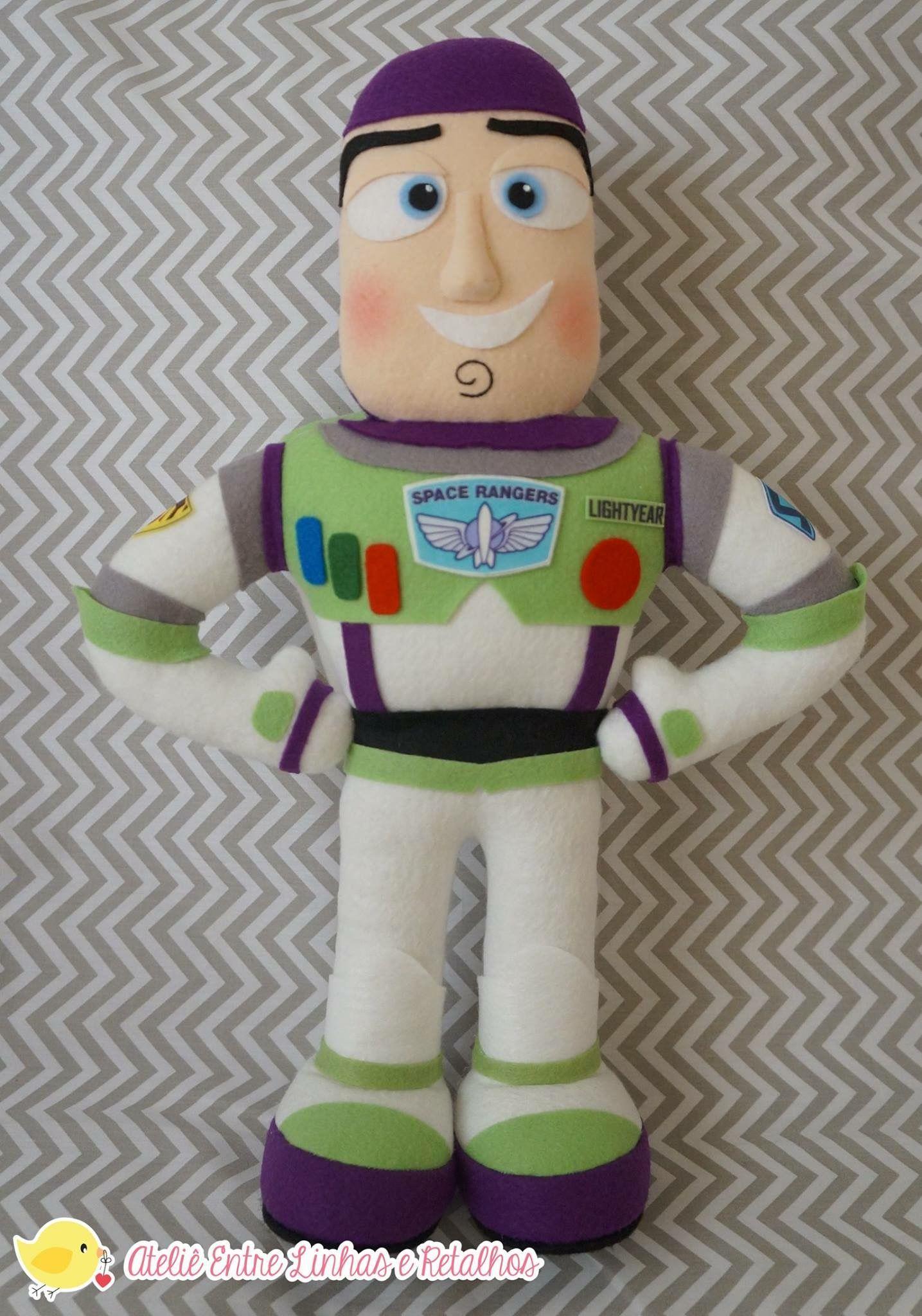0cf7d06f43b21 Buzz Lightyear feltro
