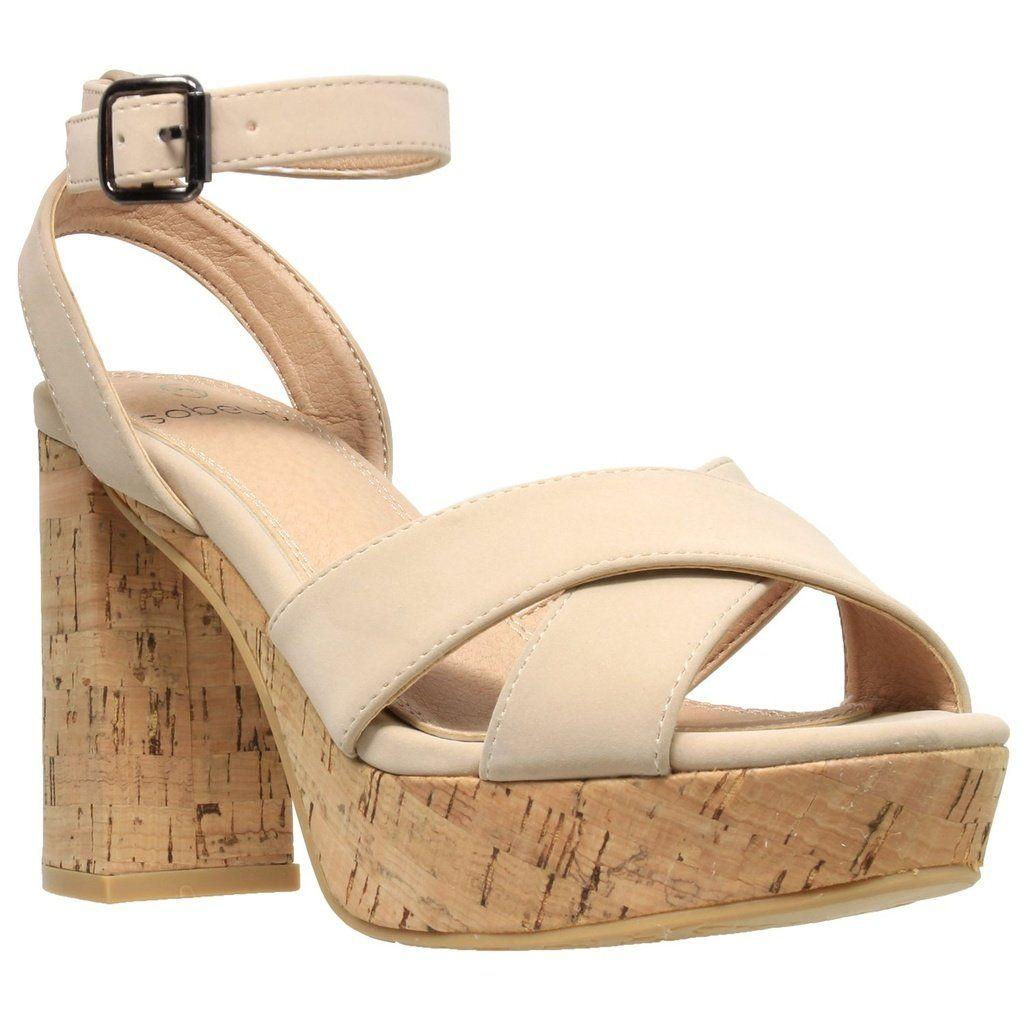 779b7f320f6 Ankle Strap Platform Cork Sandal
