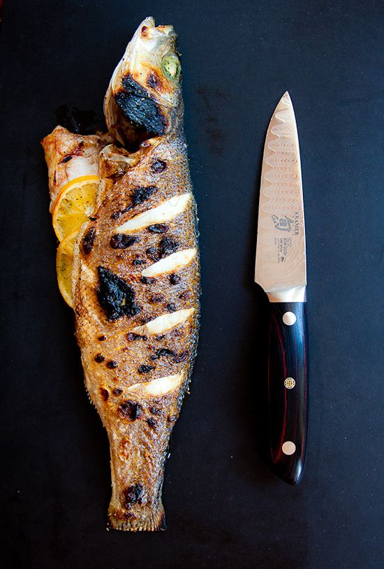 Simple Whole Roasted Fish
