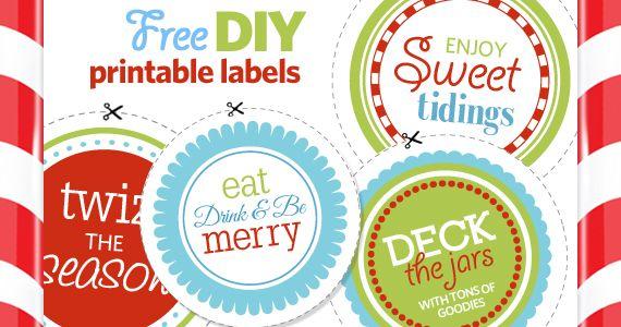 Get Your Free Printable Labels Printables Candy jar labels