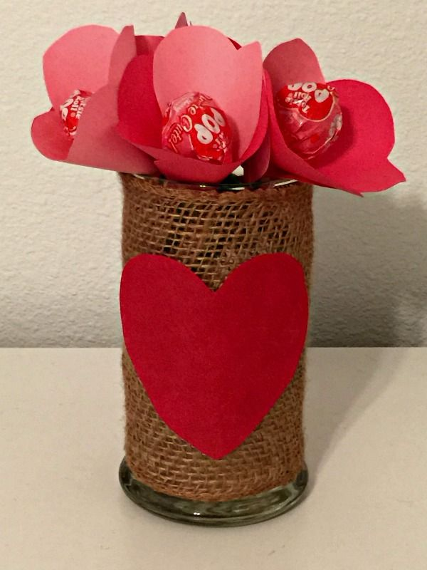 Lollipop Flower Bouquet - this was so easy to make and you can ...