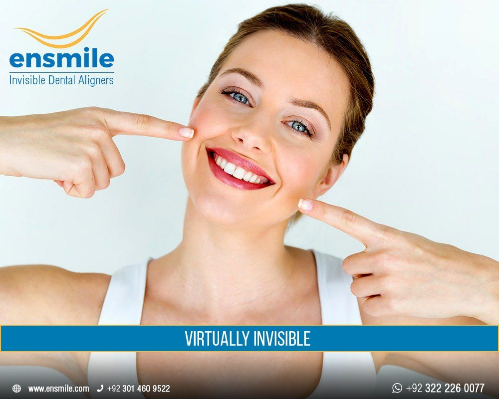 Invisible Dental Aligners Invisible braces, Metal braces