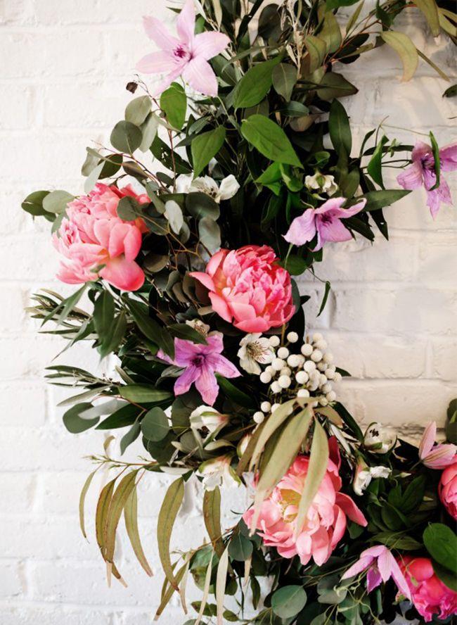 DIY Floral Garland Floral garland, Flower arrangements