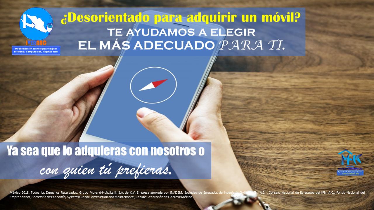 Asesoría para adquisición de equipos de comunicación móvil