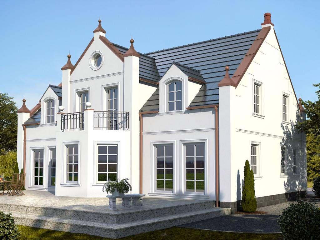 Englisches landhaus fertighaus  Ramsgate House von IBIS Haus - haus-bauen-in.de | house plan ...