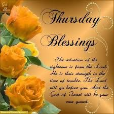 Image result for thursday blessings images