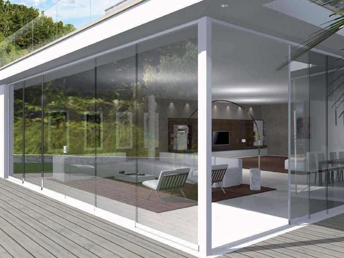 Terrazze Chiuse Con Vetrate vetrata scorrevole (con immagini) | veranda, arredamento