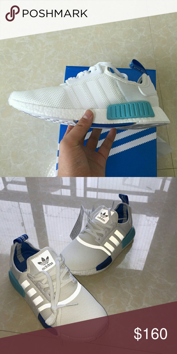 2f62761693ab Adidas NMD R1 S75235 Sao Paulo White Blue Color  White blue  Sao Paulo adidas  Shoes Athletic Shoes