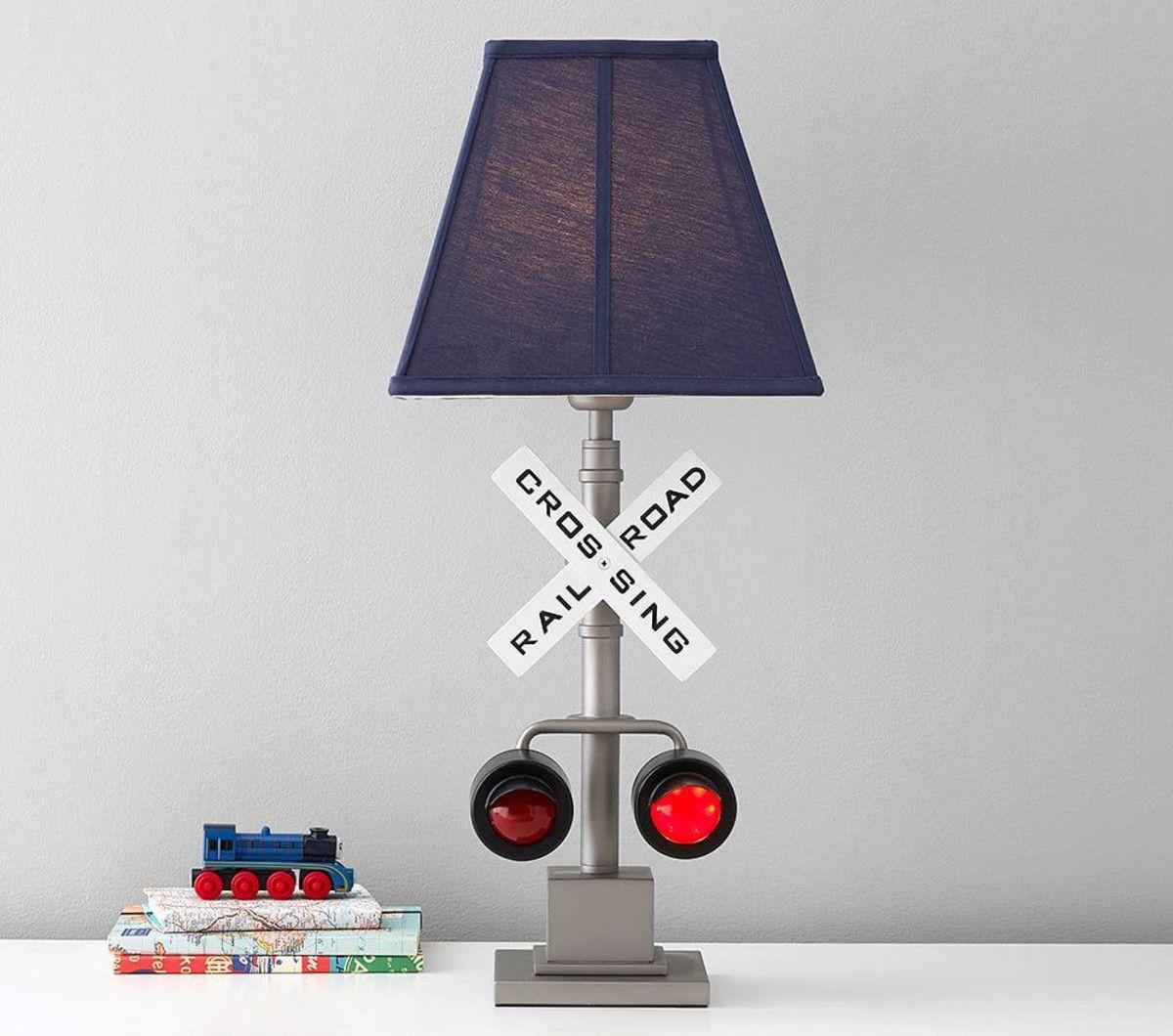 Railroad Crossing Lamp Kids Lamps Room Lamp Pottery Barn