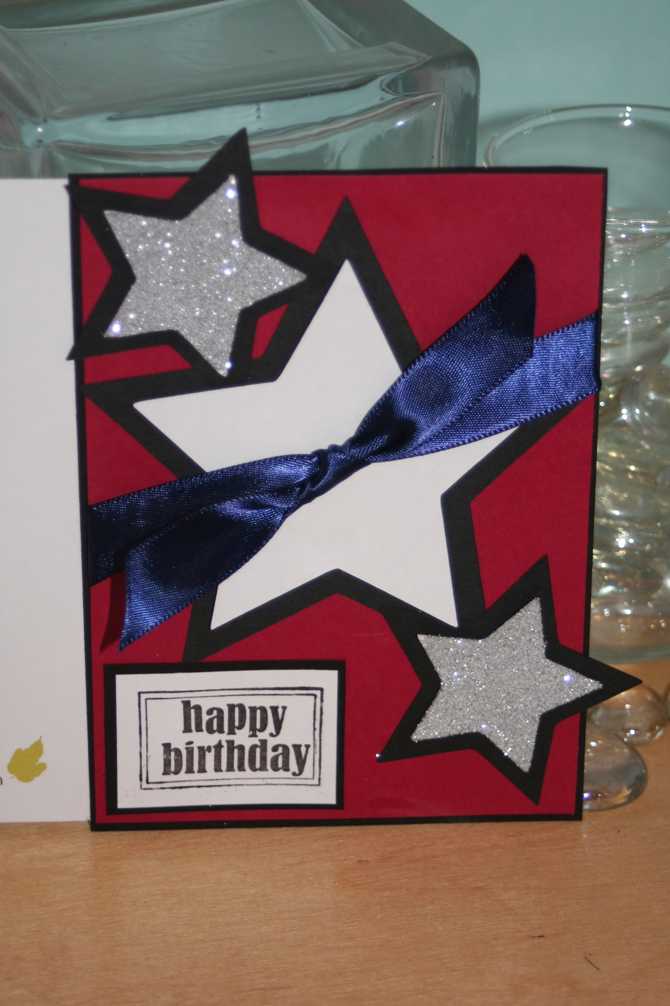 The 4th Of July For A Birthday Card Happy America