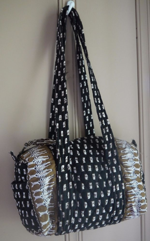 4835c3c91e Vera Bradley Small Duffel Retired (2001 - 2003) Zebra Pattern Great  Condition  VeraBradley  Duffel  Zebras