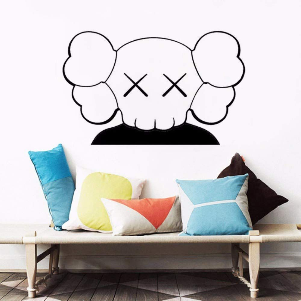 eastone kaws art wall sticker rooms home decor wall on wall stickers painting id=99360