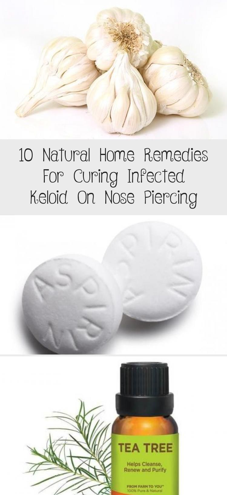 10 Natural Home Remedies For Curing Infected Keloid On Nose