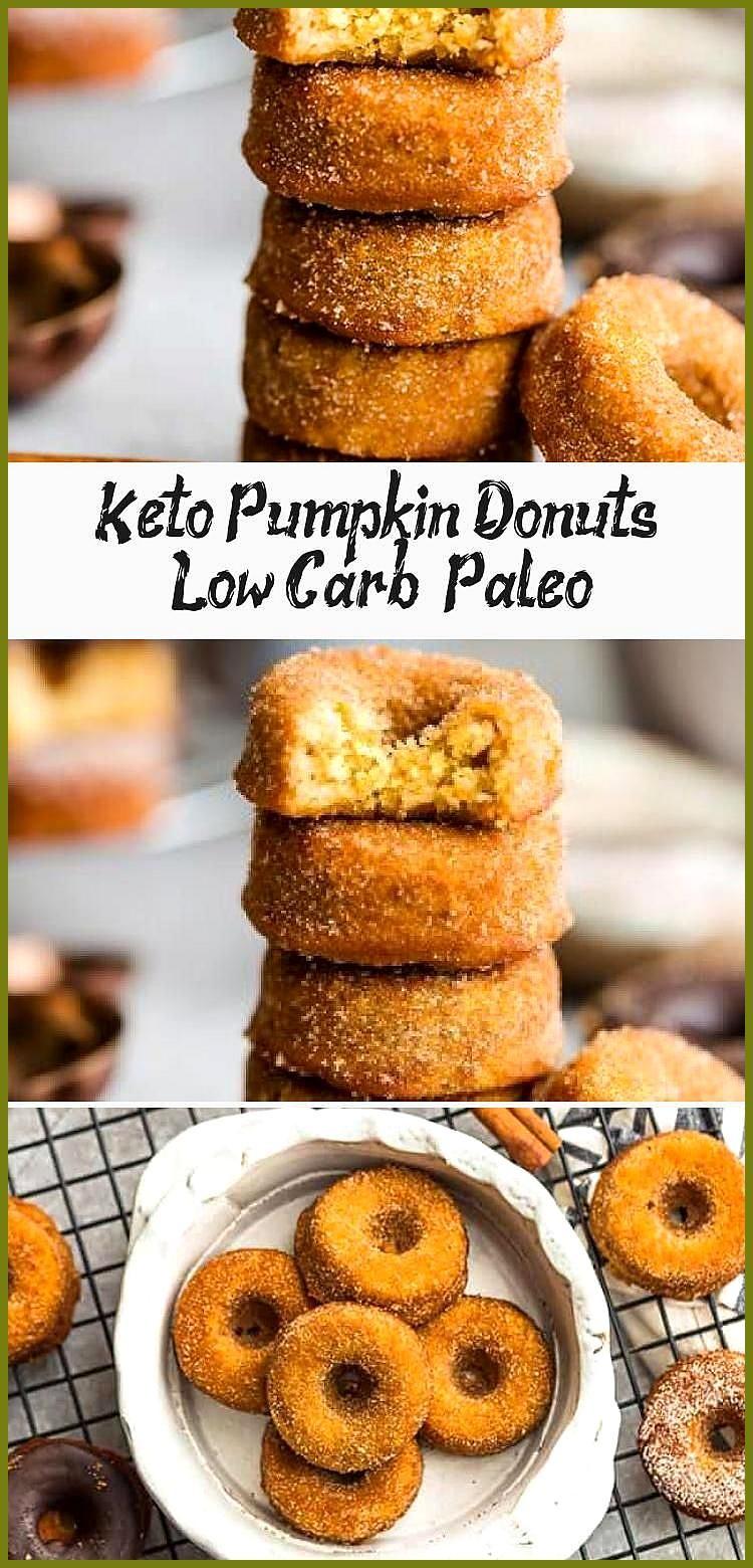 Keto pumpkin donuts low carb paleo pumpkin donuts