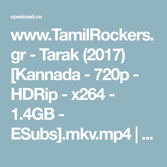 www TamilRockers gr - Tarak (2017) [Kannada - 720p - HDRip