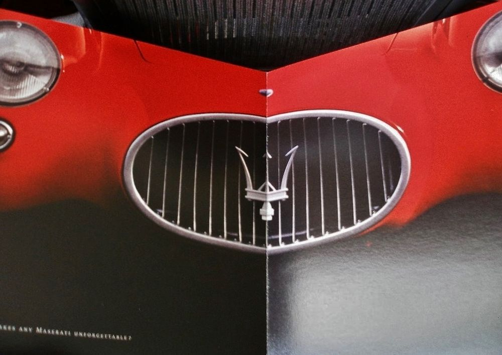 Maserati GranTurismo Super Rare Numbered 535 Presentation Book in Original Case