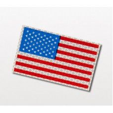 North American Rescue Infrared Flags Full Color Patch American Flag Patch North American Patches
