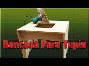 486 Bancada Multifuncional Caseira Para Tupia Part 2