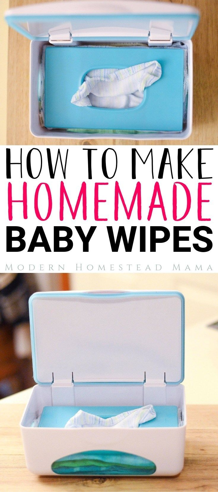 Homemade Baby Wipes (Reusable and Safe for Sensitive Skin