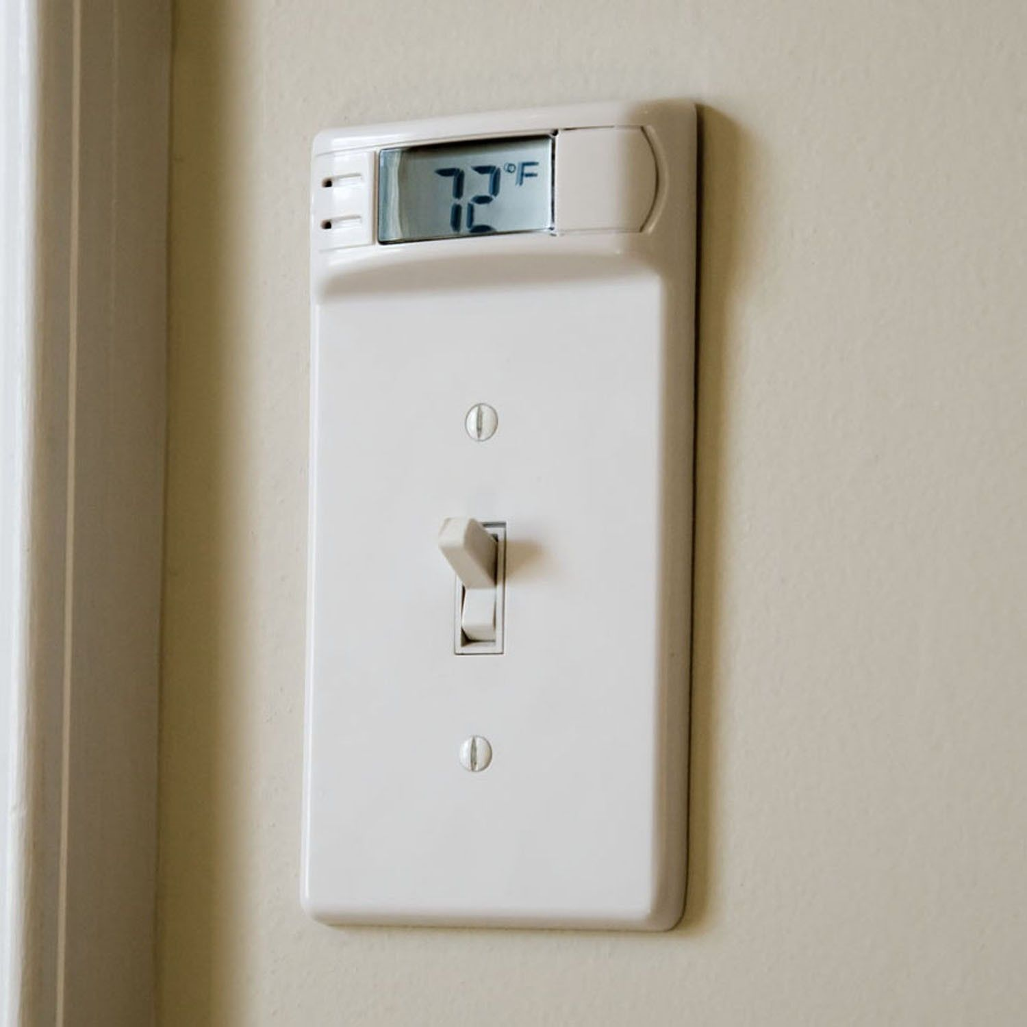 Plate Pals® - Ever felt hot or cold and wondered if it was you or the room? Better-balanced heating and air conditioning from room to room with added comfort, while allowing for energy conservation, with the help of PlatePals®. PlatePals® Wall Plate Thermometers readily replace existing wall plates, install in minutes, and need no wiring. LCD display accurately displays temperatures to within 1°F. UL approved, and an easy access battery is included.  May be personalized with corporate name…