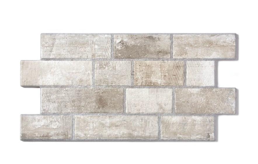Interlocking Mixed Grey Brick Effect Wall Tile Appleby S Tiles
