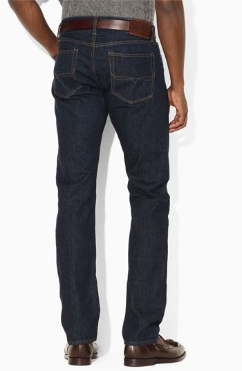 Polo Ralph Lauren Slim Fit Straight Leg Jeans (Cole Wash)  863de0148a84