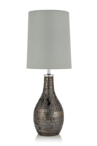 Buy smoke mosaic table lamp from the next uk online shop table buy smoke mosaic table lamp from the next uk online shop aloadofball Images