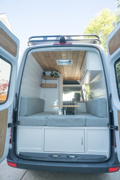 Photo of 144″ Sprinter Van with Bathroom | OUR LATEST VAN BUILD — Sara & Alex James – 40 Hours of Freedom