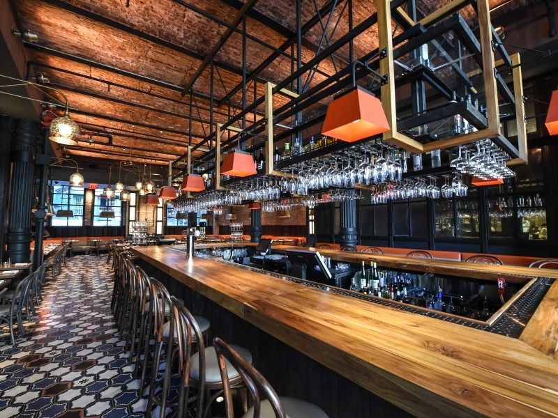 Gato Bobby Flay S Trendy New Restaurant Serving Mediterranean Cuisine With A Twist In Beautifully Decorated E