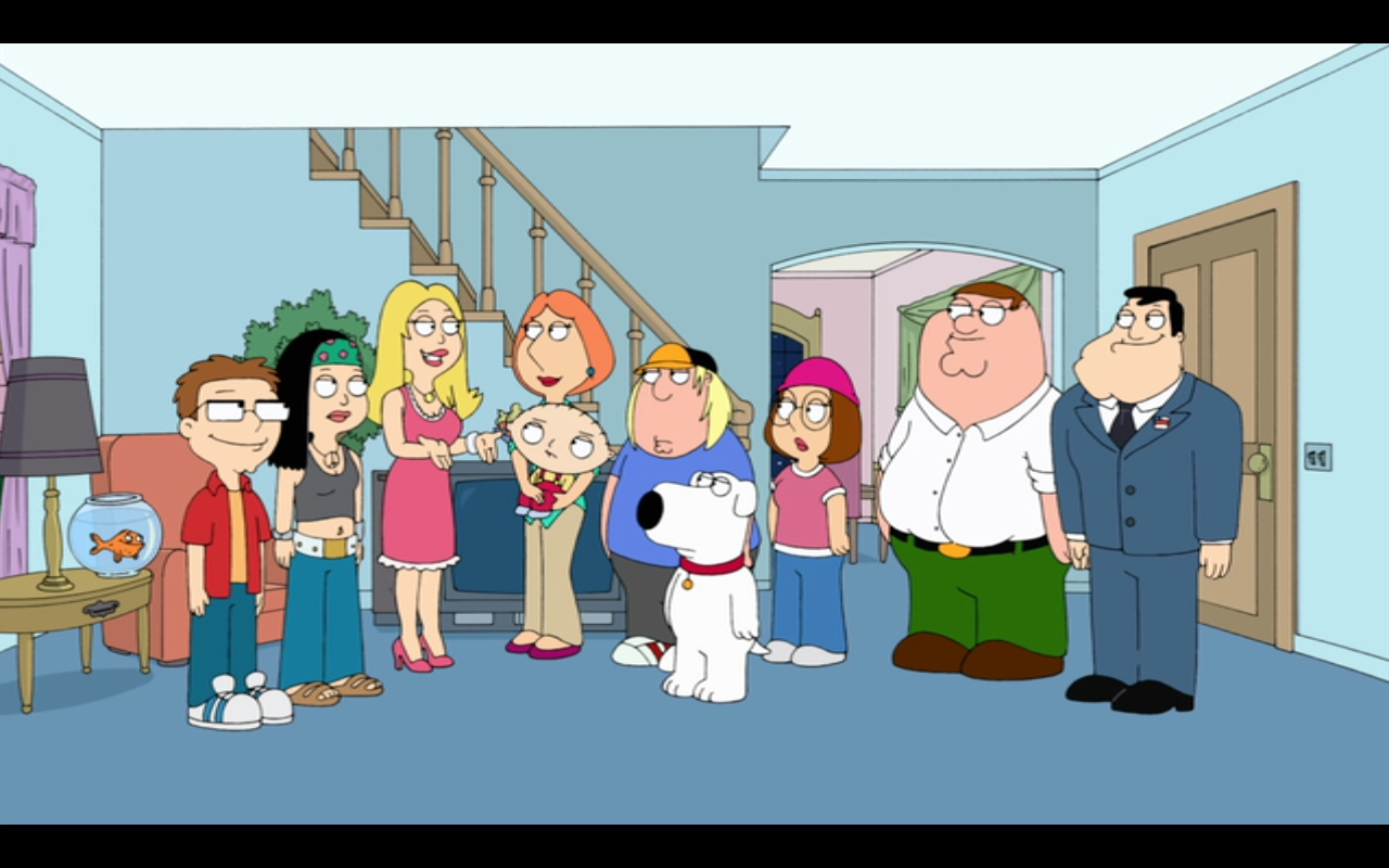 family guy meets american dad | crossovers | pinterest | american