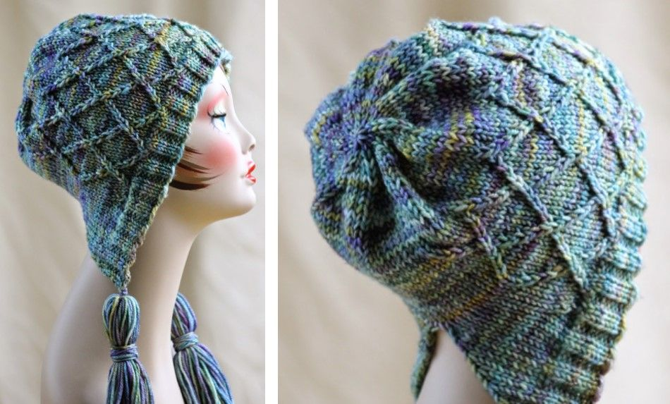 Create This Amazing Iris Bloom Knitted Bonnet As Your New Knitting