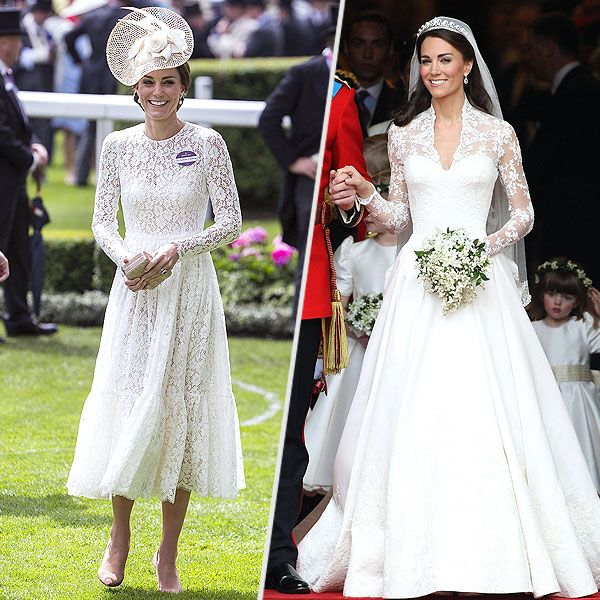 Modern Royal Wedding Dresses Kate Middleton Princess: Was Princess Kate's Ascot Outfit Choice Inspired By Her