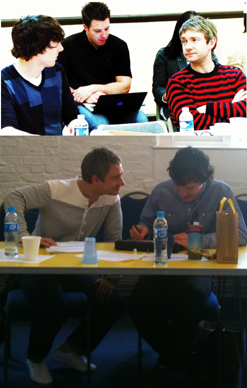 -Benedict & Martin read throughs, year 1 and year 2. beautiful friendship-