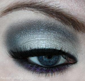 twilight - silverish grey on top and purple underneath.
