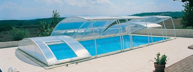 SABIC's LEXAN™ film for Pool Covers | pool | Polycarbonate panels