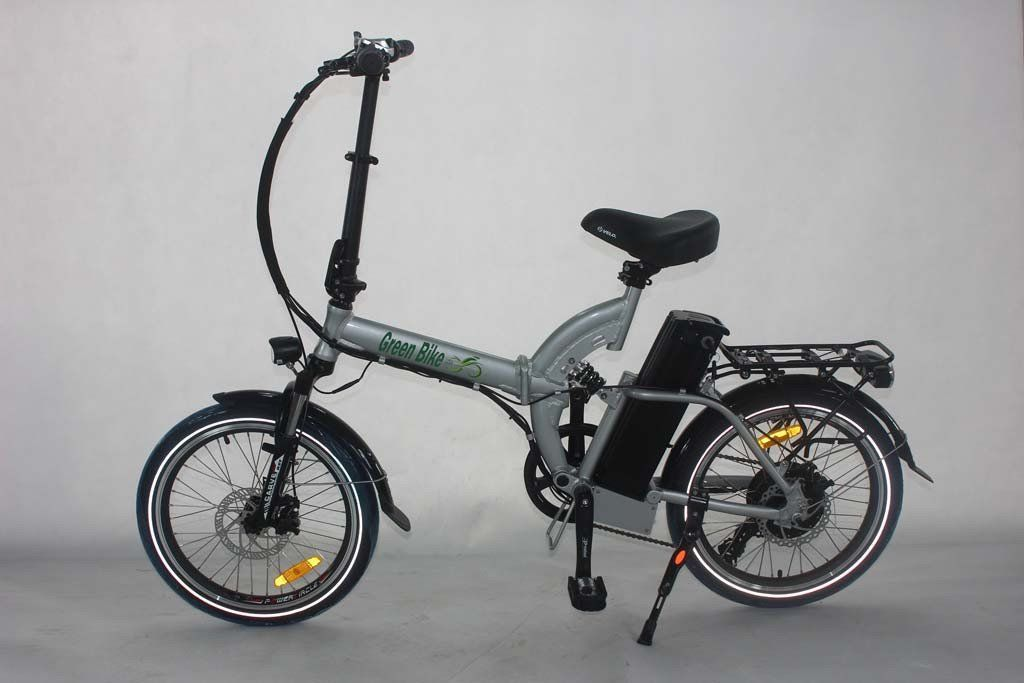 Green Bike Usa Gb500 Folding Electric Bike Folding Electric
