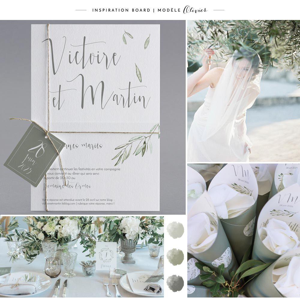 Célèbre Faire-part de mariage M20-037 board inspiration | Wedding  HL86
