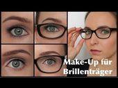 Photo of Schminken mit Brille – 30 wunderschöne Ideen und Videos  Schminke mit Brille – …