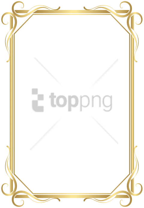 3d Gold Border Png Png Image With Transparent Background Png Free Png Images Gold Border Transparent Background Gold