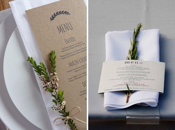 Uitzonderlijk menukaart maken, zelf printen, ontwerpen, diy menu card, simple &GE15