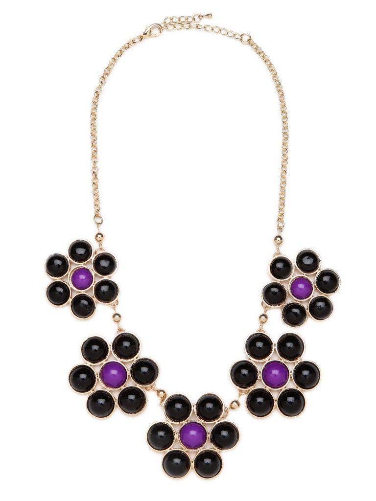 Violet Bloom Collar