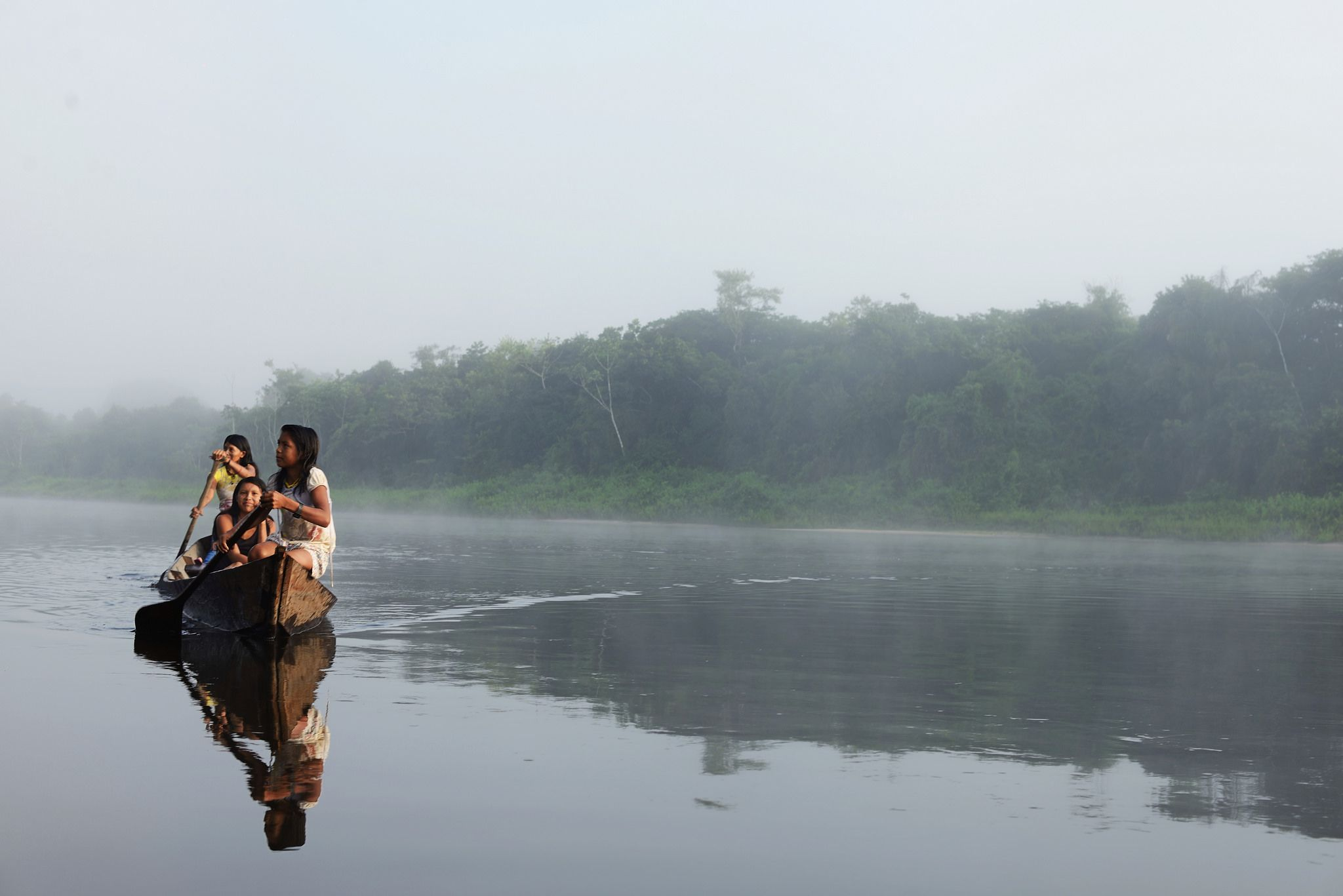 https://flic.kr/p/paLLg3 | A vida e a cultura Munduruku estão diretamente relacionadas ao rio Tapajós e seus afluentes. (Foto Gabriel Bicho)