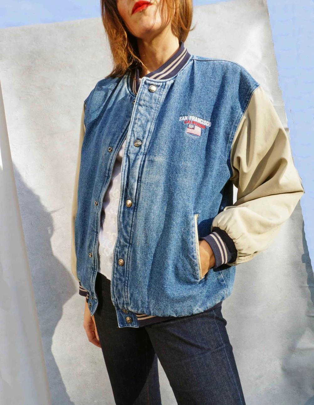 Modern Curated Vintage Clothing Homeware Ada S Attic Vintage Denim Jacket Vintage Denim Denim Jacket [ 1291 x 1000 Pixel ]