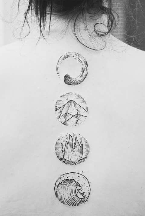 4 elements tattoo tattoo ideas four elements tattoo. Black Bedroom Furniture Sets. Home Design Ideas