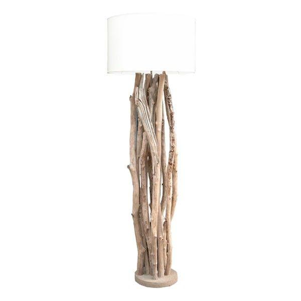 lampadaire bois flotté boston | expo plage | pinterest | inspiration