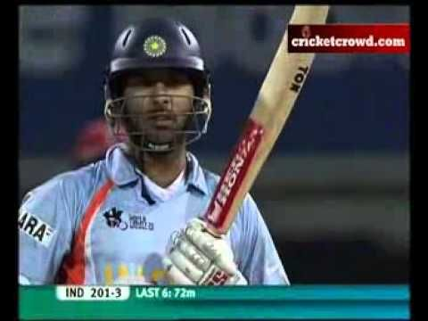 Yuvraj 6 Sixers Full Monty T20 World Cup Yuvraj Singh Cricket Sport Singh