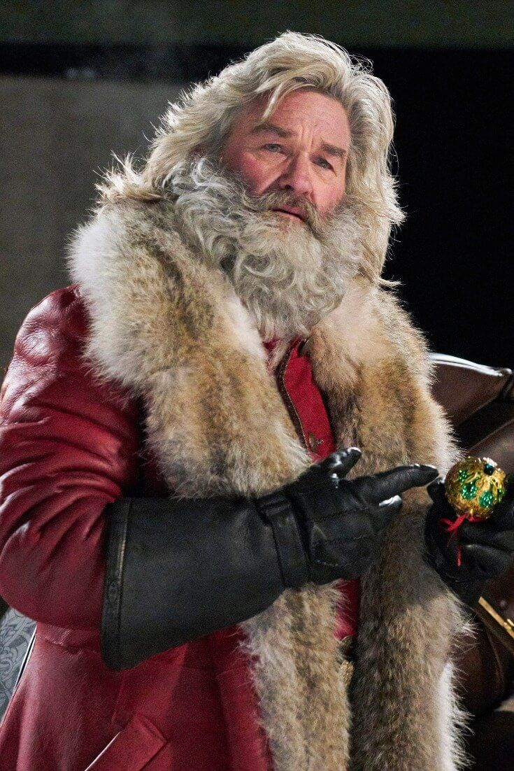 Russell Rocks Red Suit in 'Christmas Chronicles' HiT