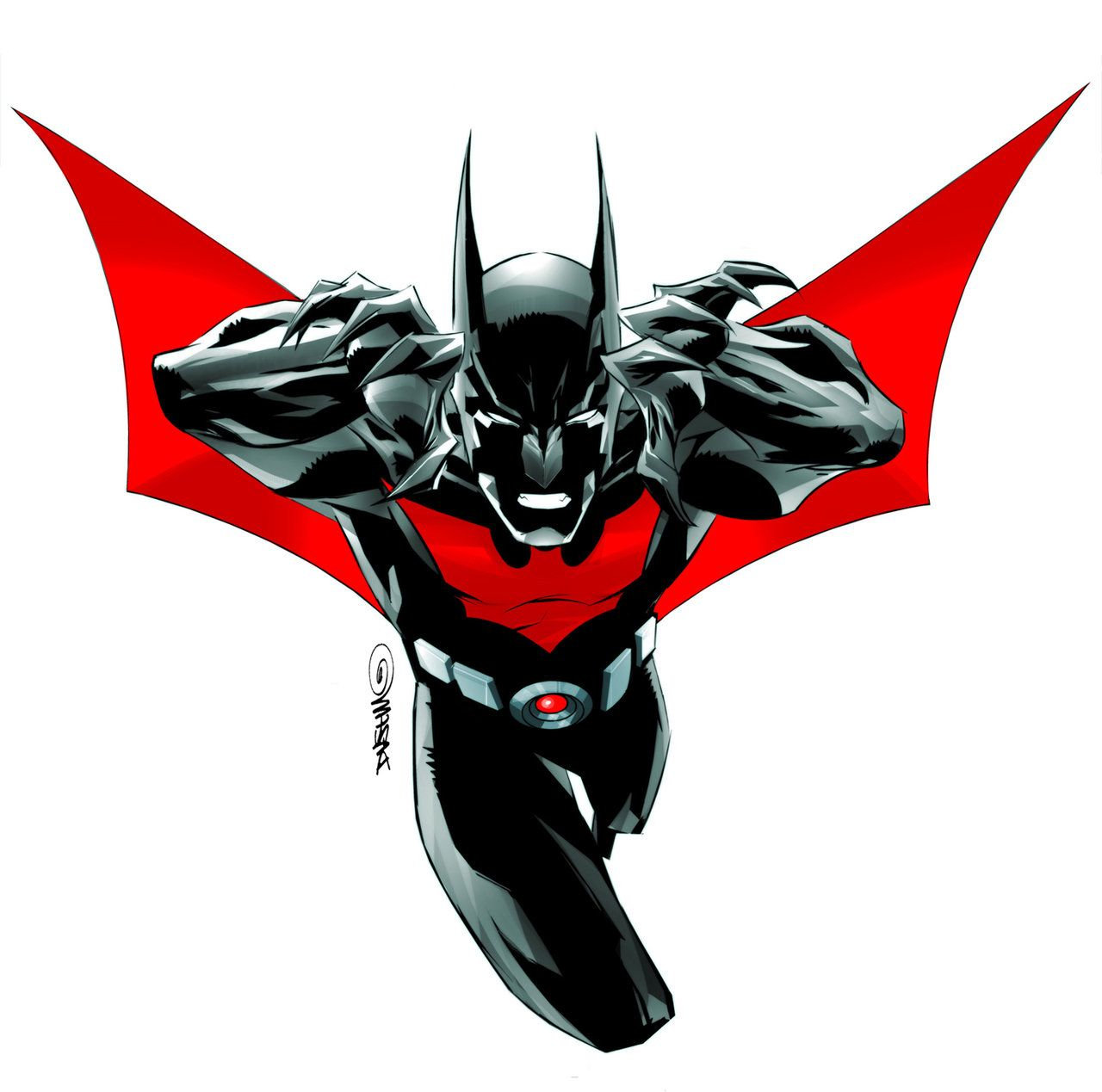 Batman Beyond Ongoing Cover 1 By Duss005 Awesome Pinterest