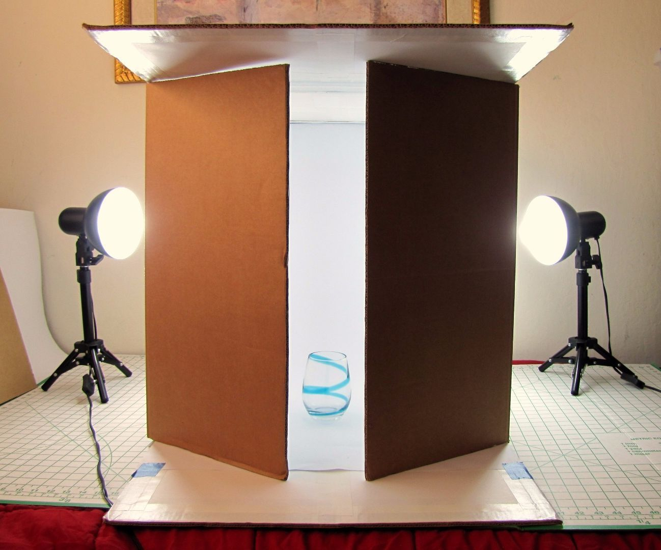 Make Your Own Object Photography Soft Light Box Photo Light Box Light Box Photography Softbox Diy